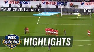 lewandowski beautiful free kick in extra time   2016 17 bundesliga highlights