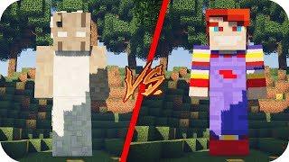 Titan Granny VS Titan Chucky - Minecraft