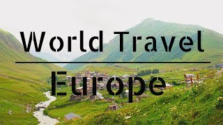 EUROPE TRAVEL VIDEO【3 Minute 20 countries】
