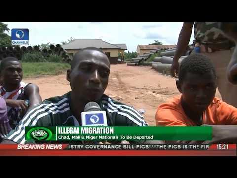 News Across Nigeria: Immigration Service Arrests Over 400 Irregular Immigrants