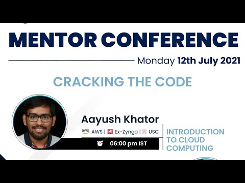 Introduction to Cloud Computing   Crack the Code   Mentor Conference 2021