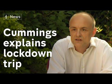 Dominic Cummings explains