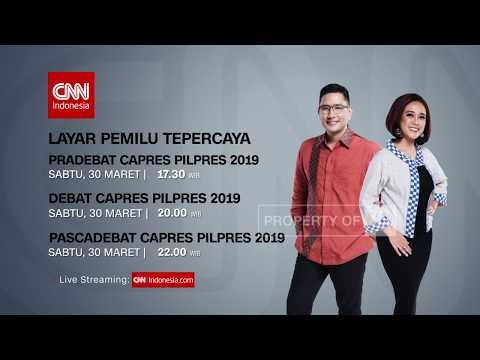 CNN Indonesia - Debat Capres Pilpres 2019