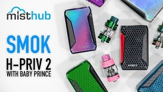 SMOK H-Priv 2 225W TC Kit with TFV12 Big Baby Prince Video
