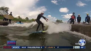 River Surfing on the South Platte in Colorado