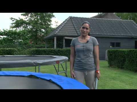 plum in ground trampoline installation instructions