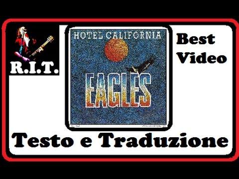 Hotel California - Eagles testo e traduzione