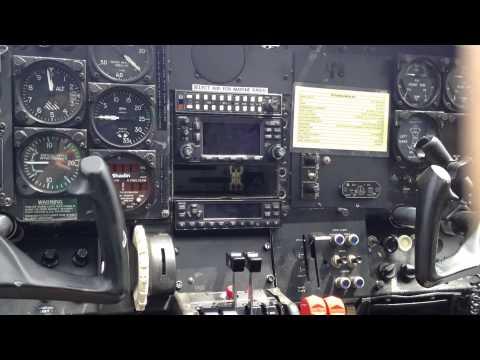 Cessna sky master 02A cockpit