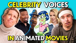 Can We Guess Which Celebrities Voiced These Famous Characters?