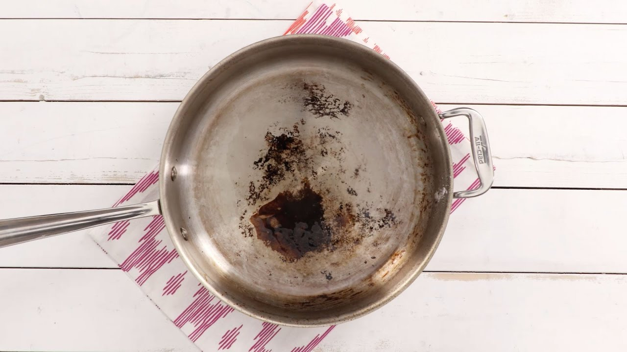 The Best Way To Clean Burnt Pans Southern Living You