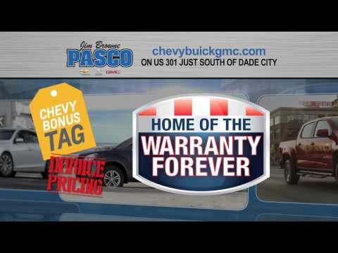 Jim Browne Pasco Chevrolet Buick GMC - Chevy Bonus Tag event