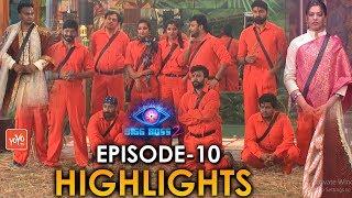 Bigg Boss 2 Telugu Episodes 10 | Bhanu Sri Romance with Tejaswi | Luxury Budget Task | Nani | YOYOTV