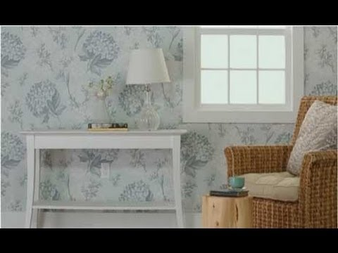 Wallpaper Tips - How to Wallpaper a Room - YouTube