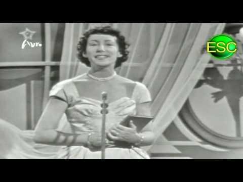 ESC 1958 06 - Denmark - Raquel Rastenni - Jeg Rev Et Blad Ud Af Min Dagbog