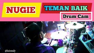 NUGIE - TEMAN BAIK - LIVE (RENDY DRUM CAM)