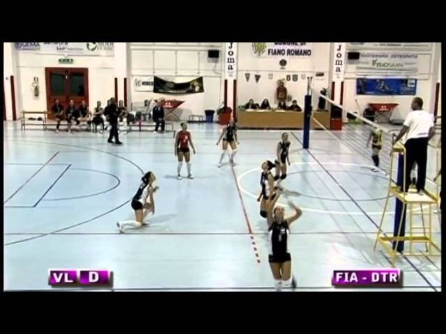 Fiano Romano vs Dream Team Roma - 1° Set