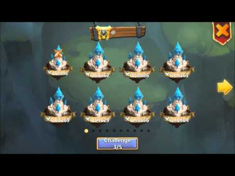 Castle Clash Guild Wars Plus Top Arena With Candy Kane