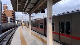 20180317-18 名鉄瀬戸線・喜多山駅 栄町方面仮設ホーム切換後