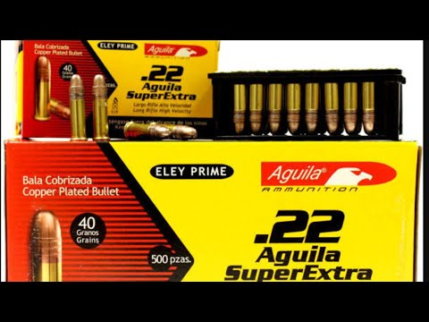 Aguila Super Extra High Velocity .22 Ammo Review: Is It Any Good?