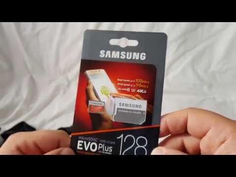 Samsung EVO microSDXC 128GB UHS-I U3 MB-MP128GA/EU