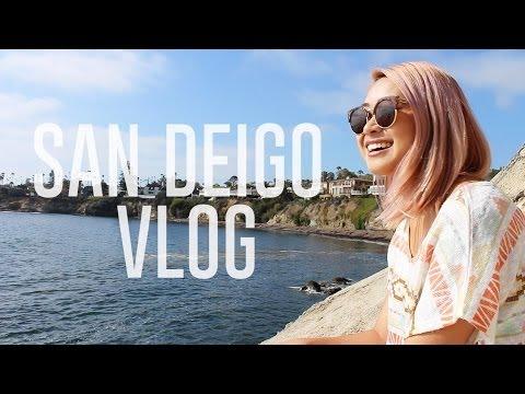 San Diego Vlog: Baseball Game and the Beach!