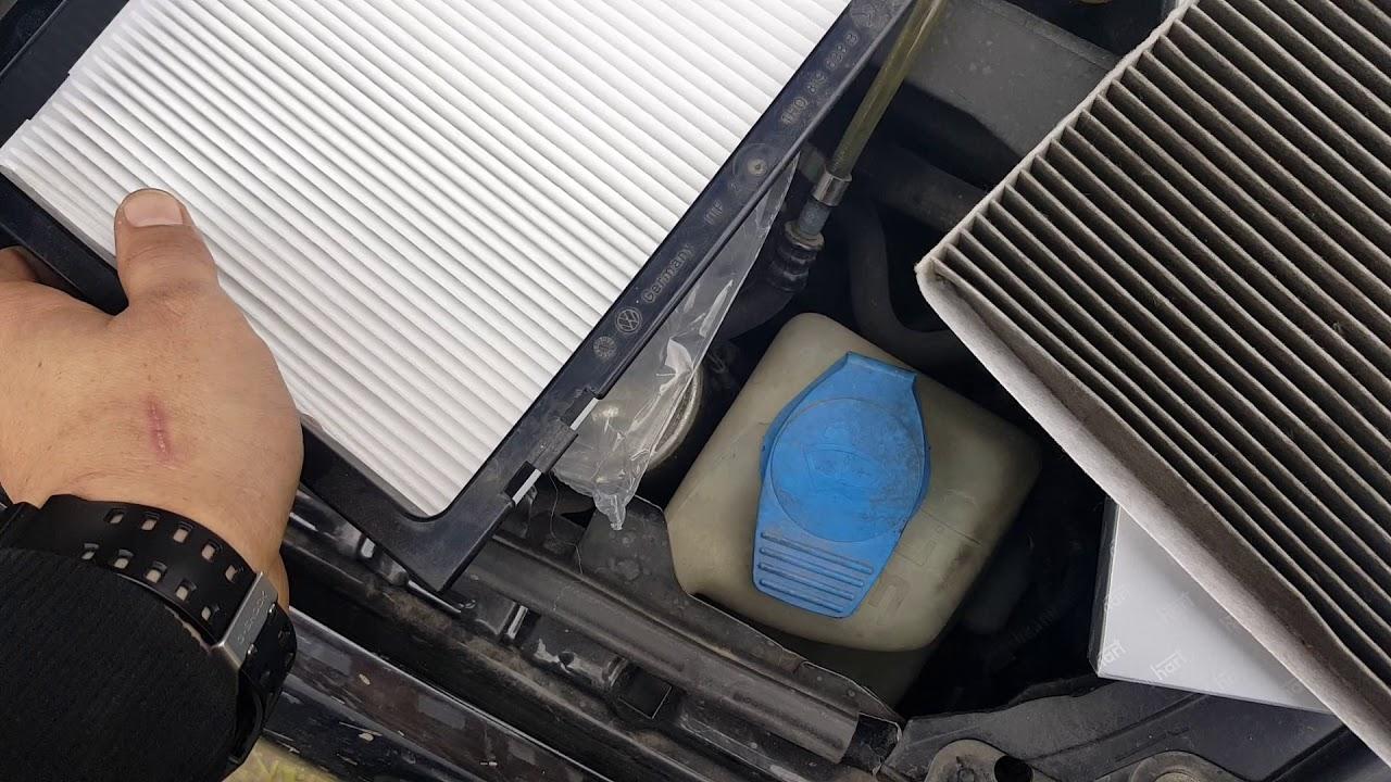 Wymiana Filtra Powietrza Kabinowego Audi A3 8l Exchange Air Filter
