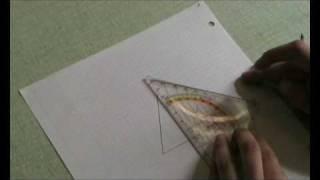 comment construire la hauteur d'un triangle