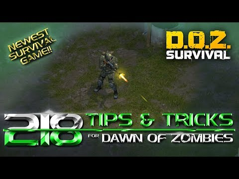 218 Tips and Tricks for Dawn of Zombies: Survival after the Last War