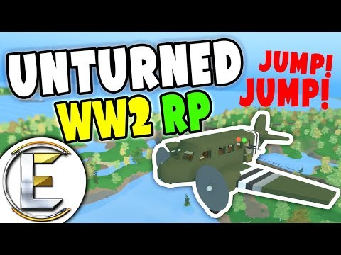 Priceless Artifact In A Hangar - Unturned WW2 Roleplay (World War II RP)