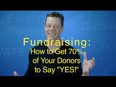 Fundraising Asks: How To Get 70% Of Donors To Say