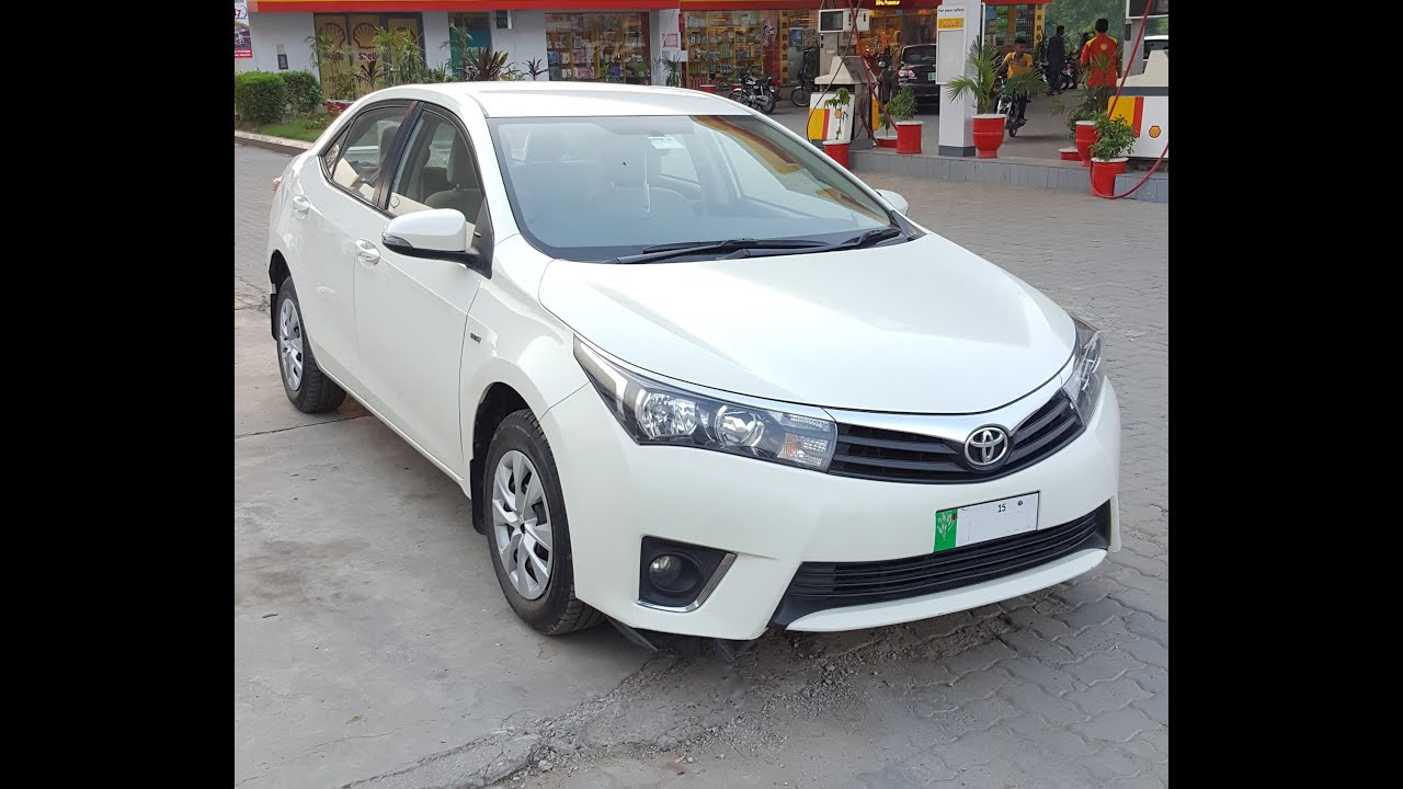 toyota corolla gli new shape in white 2014 2015 pictures