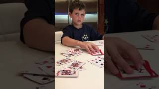 Gambar cover Justin Gould, passing on the long tradition of card playing