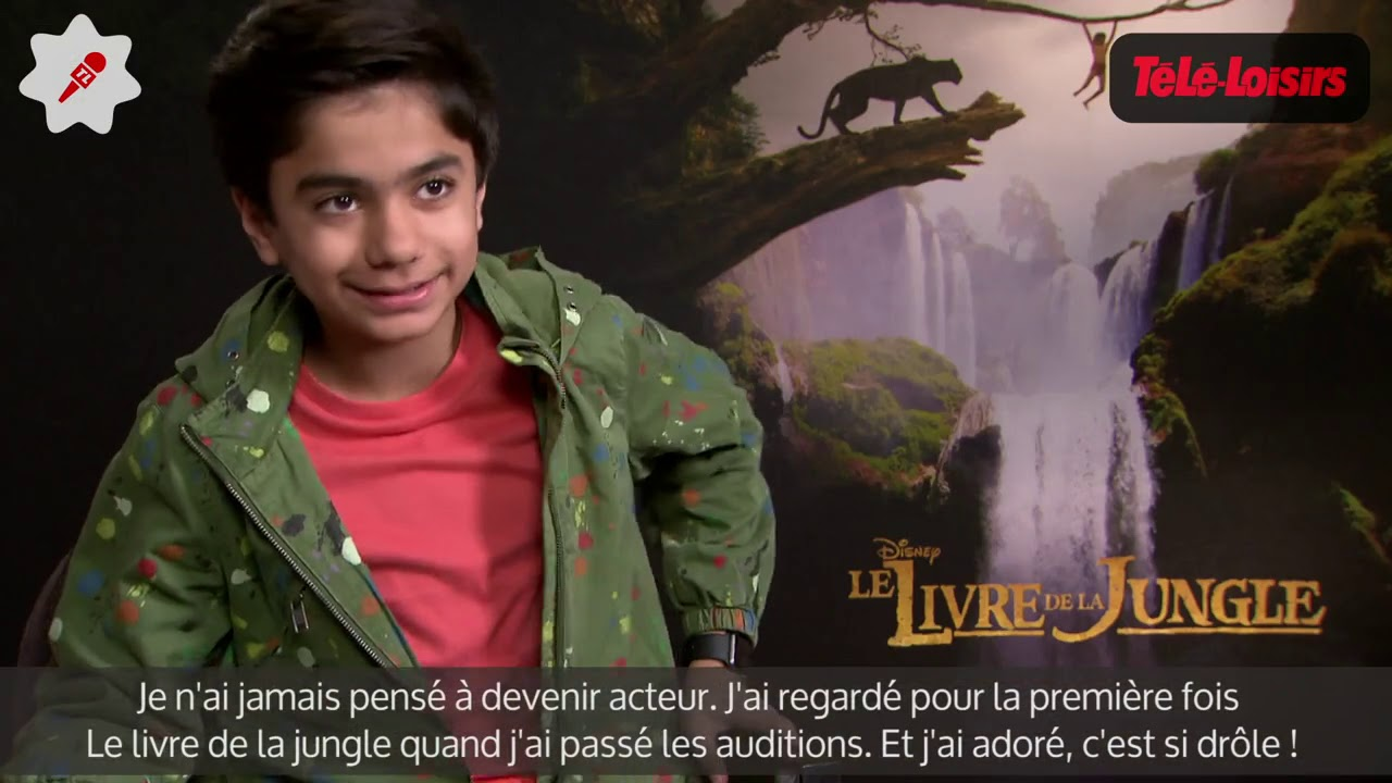 Le Livre De La Jungle Decouvrez Neel Sethi Alias Mowgli Dans Le Film De Jon Favreau