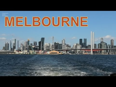 MELBOURNE CITY TOUR -YARRA RIVER BOAT CRUISE TO WILLIAMSTOWN PART 3
