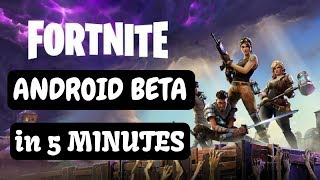 How to Get Invite for Fortnite for any Android Device | Download Fortnite for Any Android Device