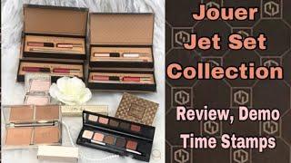 Jouer Cosmetics * New Jet Set Collection * Sunswept Bronzer Duo , Palette , Celestial , Lip kits