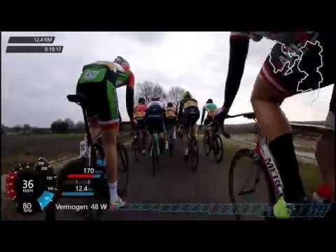 31e Omloop van de Veenkoloniën 2018, clubcompetitie. 7th place - #cycling Holland