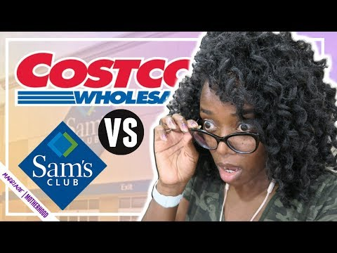 🚨 Costco FAN First Time At SAMS CLUB 🤯 Costco Shop With Me Vs. Sam's Club Shop With Me