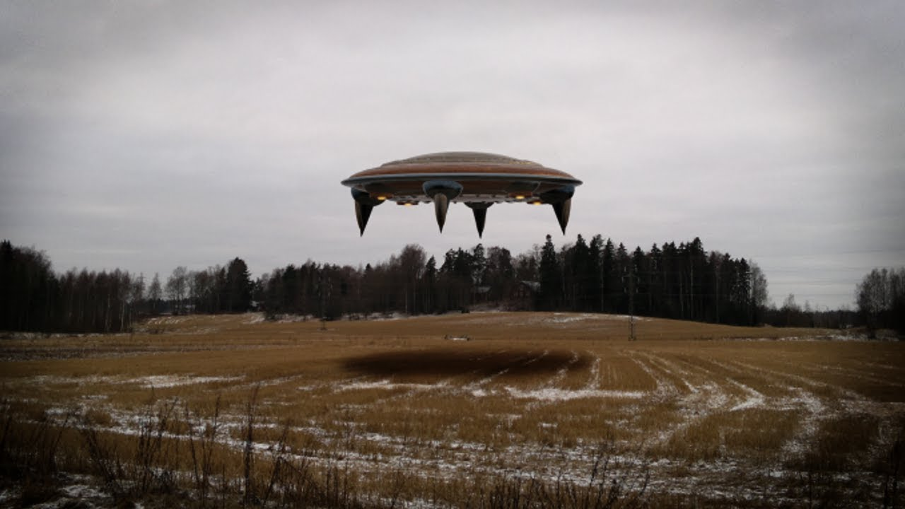 Real alien spacecraft