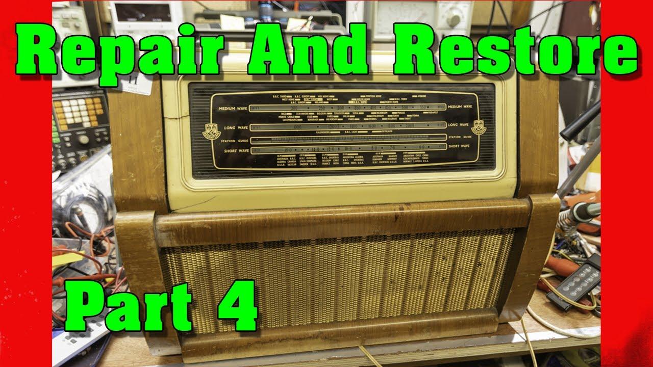 Regentone Record Player 1953 Multi 99 Vintage Radio Restoration Pt 4 Youtube