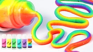 DIY How To Make Dohvinci Super Rainbow Play Doh Dohvinci Mighty Toys Learn Colors