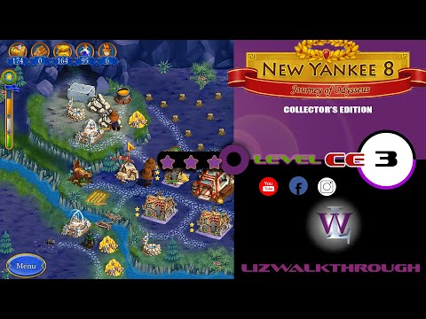 New Yankee 8 - Level 3 CE Bonus Walkthrough (Journey of Odysseus) |