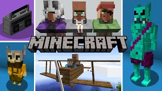 Minecraft 1.15 Forge Mods Of The Week | Polymorph, Cazmaniya, Jumbo Furnace, Regrowth, And More!