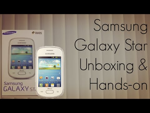 Samsung Galaxy Star GT-S5282 Smart Phone Specifications ...