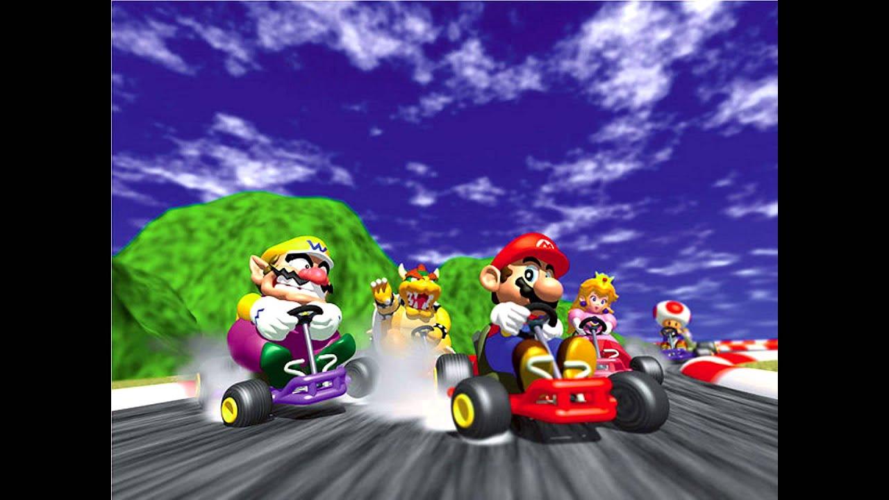 Mario Kart 64 (N64) - Full Soundtrack - YouTube