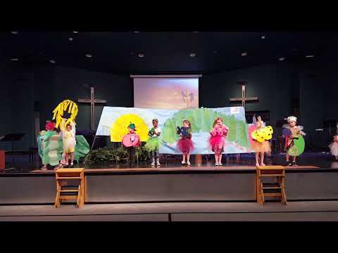"""The Very Hungry Caterpillar"" by Eric Carl by Grace Fellowship Academy's Kindergarten class."