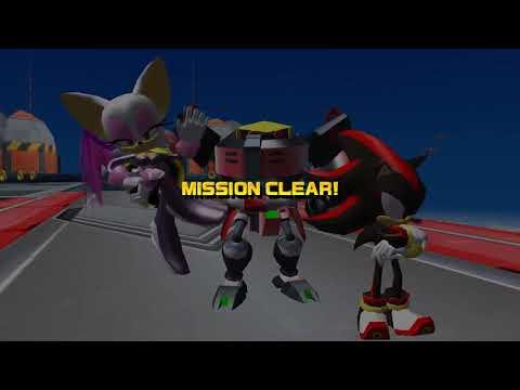 Sonic Heroes (PC)   Part 14: Team Dark - Egg Fleet/Final Fortress/Egg Emperor