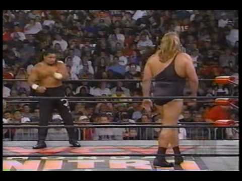 WCW Monday Nitro 9-14-98 The Giant vs Meng