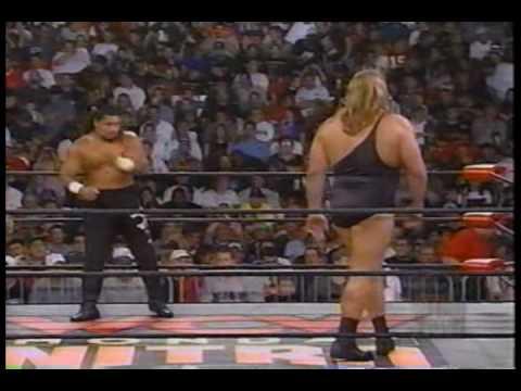 WCW Monday Nitro 9-14-98 The Giant Vs Meng