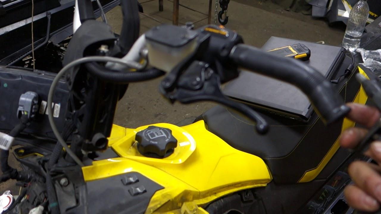 Снегоход  SKI-DOO  Желток 800 обслуживание ремонт. компрессия  .вакуум .звезды. прямоток